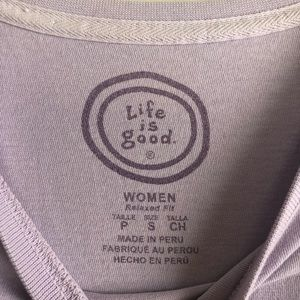 Life Is Good Tops - Life is Good Hit the Road Shirt